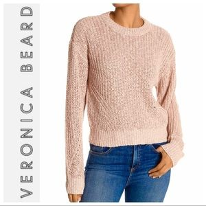 Brand NEW VERONICA BEARD Leah Crewneck SWEATER